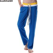 GANYANR Brand mens Full Length long pants sexy sports gym yoga running Sweatpants Athletic Pants Plus Size Training Trousers