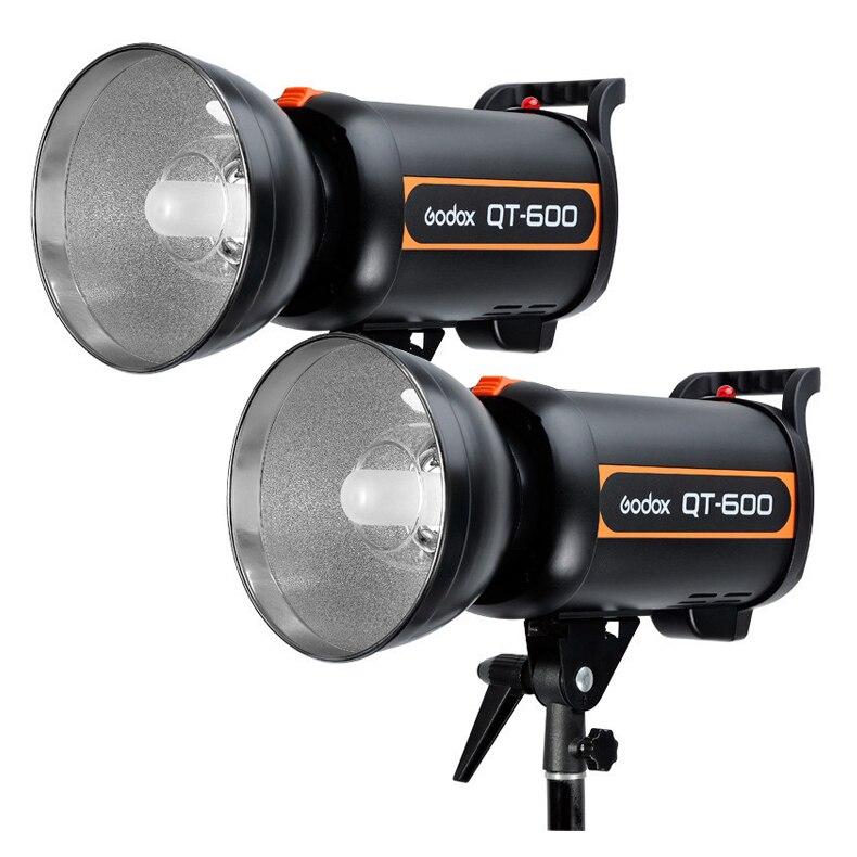Godox Pro QT-600 600 Вт HSS 1 / 5000 s студия строб вспышка света глава 110 В 120 В 220 В 230 В