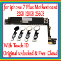 Для Apple iphone 7 Plus материнская плата оригинальная разблокированная материнская плата с/без Touch ID, для iphone 7P логическая плата с полными чипами