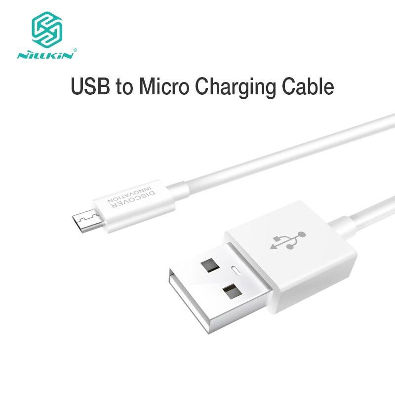 "NILLKIN מיקרו USB מטען כבל 5 v/2.1 (מקסימום) usb מטען לטלפון נייד כבלי נתונים כבל 100 ס""מ דיגיטלי כבל קמעונאות חבילה"