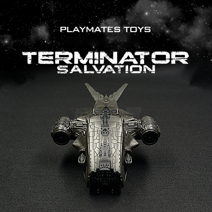 1:18 Sacle 3.75 inch Terminator Hunter Aircraft Model Toy