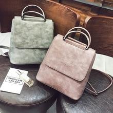 Fashion Women Backpack Pu leather travel bagpack large School Shoulder Bags For Teenager Girls mochila feminina 2020 Quality