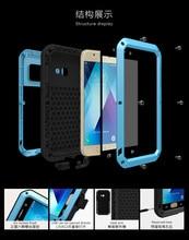 Do Samsung Galaxy A5 2017 A520 przypadku miłość MEI Shock Dirt wodoodporny odporny metalowy pancerz pokrywy skrzynka dla Galaxy A3 A320