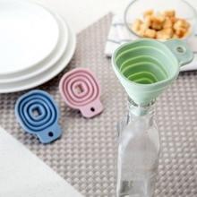 OTHERHOUSE Мини Складная силиконовая воронка для наполнения пустая бутылка Портативная Складная воронка для масляный соус жидкость кухонные аксессуары