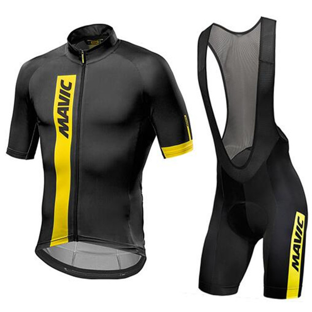 Mavic Cycling Jersey 2018 Summer Pro Team Short Sleeves Cycling Sets Sports  Suits Ropa Ciclismo Hombre Bike Clothing d17330d77