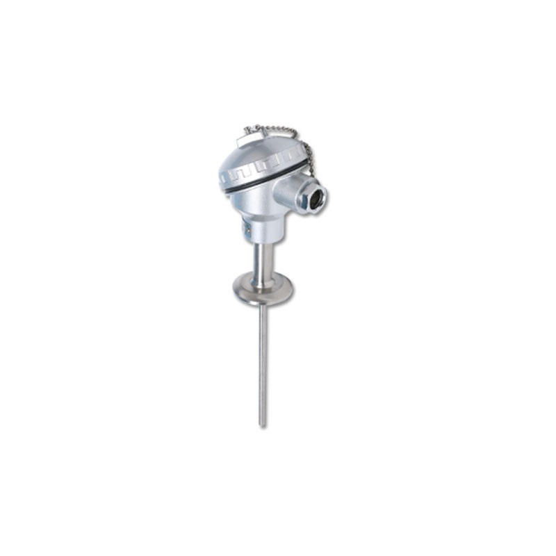 Industrial Thermal Resistance PT100 Two Or Three-Wire Connection Flange Threaded Mounting With Base 304 Material