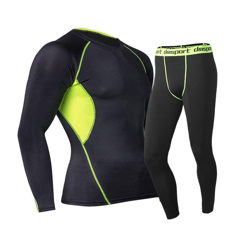 4cd6c9c6b815 2019 nuevos conjuntos de ropa interior térmica Calzoncillos largos para  hombre Invierno Caliente compresión pantalones de secado rápido ropa para  hombres ...
