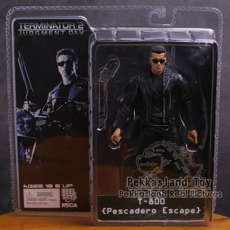 NECA The Terminator 2 T-800 T-1000 Endoskeleton PVC Action Figure Collectible Toy 7 18cm image