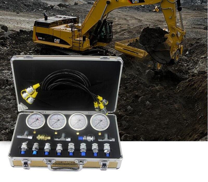 Professional Excavator hydraulic manometer Diagnostic Test Kit For Excavator Caterpillar Y
