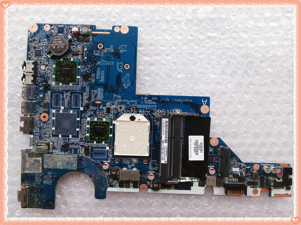 623915-001 COMPAQ PRESARIO CQ56 G56 NOTEBOOK G56 Motherboard DA0AX2MB6E1  DA0AX2MB6E0  100% Tested
