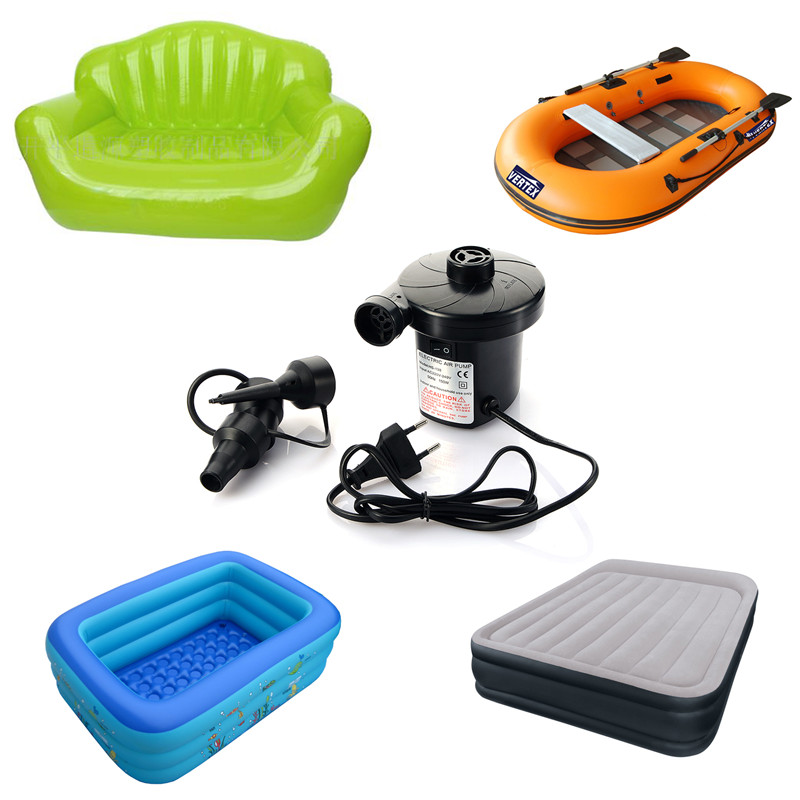 Electric Inflatable Air Pump Inflate Reflate For Outdoor Kayak Air Boat Bed Sofa Ballon Pump Electric Inflatable T0.21