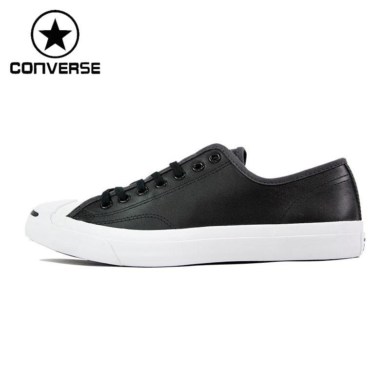 Original New Arrival 2018 Converse Men's Skateboarding Shoes Leather Canvas Sneakers original converse selene monochrome leather women s skateboarding shoes sneakers