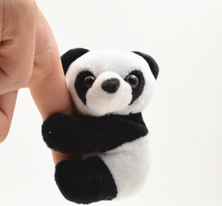 1 Pcs Creative Plush Panda Clip Small Stuffed Animal Toy Curtain Clip Bookmark Notes Souvenir Toys For Children Stuffed & Plush Animals Dolls & Stuffed Toys