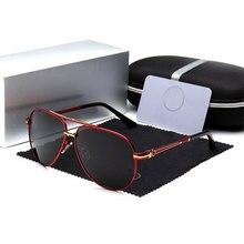 Polarisierte Sonnenbrille Männer Marke Designer Pilot Männlichen  Sonnenbrille Für Fahren Mercedes Brillen Schattierungen Mit Fal. 5496b4e2b3