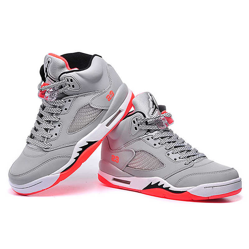 347938b104a3 ... Original Nike Air Jordan 5 Retro Gs AJ5 Florida Women s Basketball  Shoes Sneakers