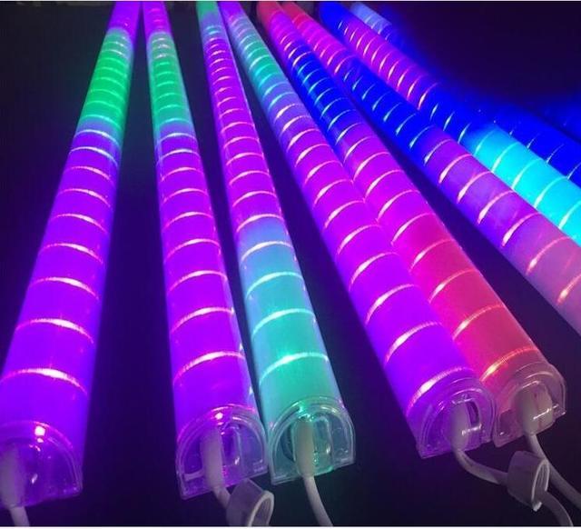 acheter la lumi re du tube ext rieur led garde corps tube lampe contour lumi re. Black Bedroom Furniture Sets. Home Design Ideas