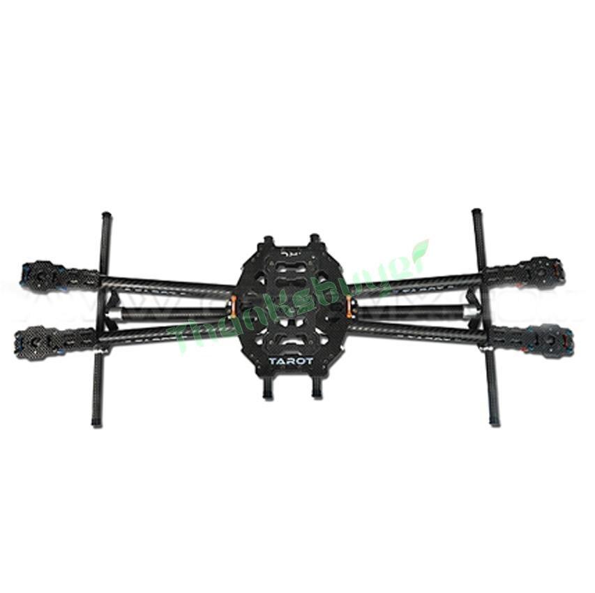 Tarocchi Iron Man 650 Aeromobili FPV Quadcopter TL65B01 Completamente Pieghevole In Fibra di Carbonio con carrello di AtterraggioTarocchi Iron Man 650 Aeromobili FPV Quadcopter TL65B01 Completamente Pieghevole In Fibra di Carbonio con carrello di Atterraggio