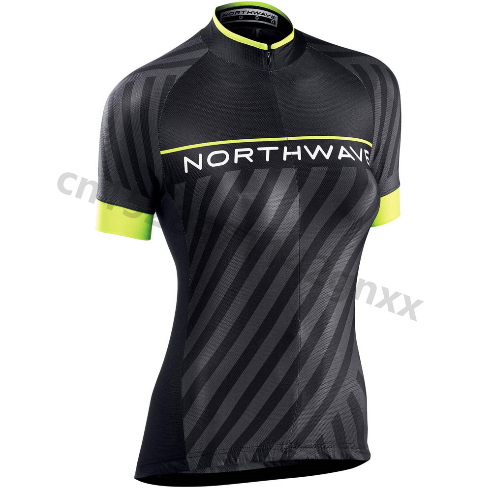 NW Northwave Women Cycling Jersey Top Quality Summer MTB Bicycle Wear Cycling Clothing Maillot Ropa Ciclismo Racing Bike Clothes in Cycling Jerseys from Sports Entertainment