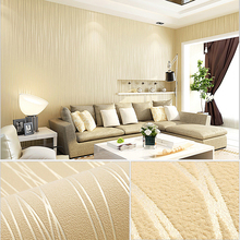 Self-adhesive Modern Minimalist Wall Paper Striped Solid Color Non Woven Wallpaper Living Room Tv Sofa Background Wallcovering