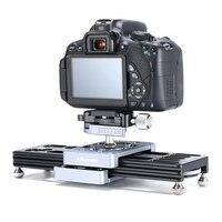 Ulanzi SL 260 Pocket Camera Slider Track Rail for Video Camera DSLR Camcorder Phone Mini Portable DSLR Slider Rail Systerm