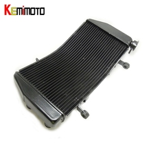 KEMiMOTO For Ducati 848 EVO 1098 1098S R 1198 1198S 1198R Aluminum Radiator Cooler Cooling Kit Accessories
