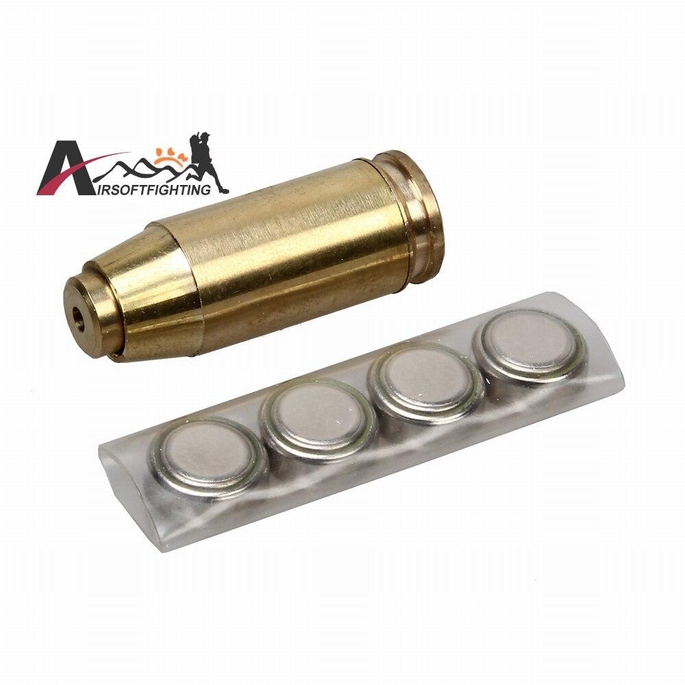 40 ACP Cartucho Visible Mira Láser de Punto Rojo Ámbitos Herramientas Tactical P