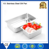 Kitchen Accessories 1 3 Food Pan Stainless Steel GN Pan Home Use Or Commercial Chafing Dish