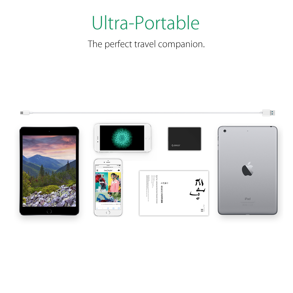 ORICO 5 Ports Desktop-Ladegerät USB-Handy-Ladegerät Reiseladegerät - Handy-Zubehör und Ersatzteile - Foto 6