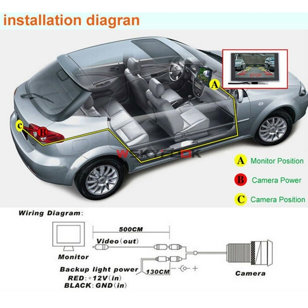 For Kia K2 Rio Sedan Hatchback Ceed 2013 Hyundai Accent Solaris Verna 2014  I30 Car Rear View License Plate Frame Camera 600L CCD-in Vehicle Camera  from ...