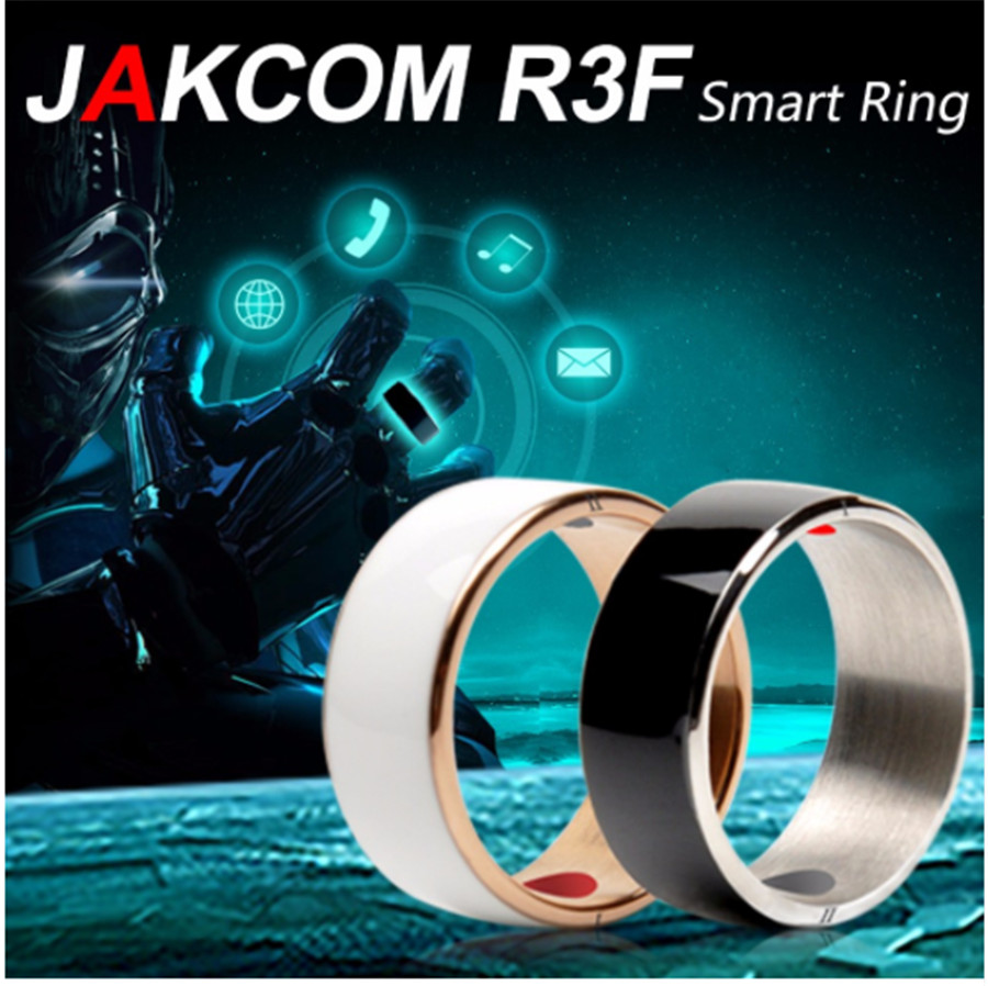 Original Jackom R3F Fashion NFC Smart Ring Band Bluetooth Cell Phone accessories Magic jewelry For Android Men's Ring men women