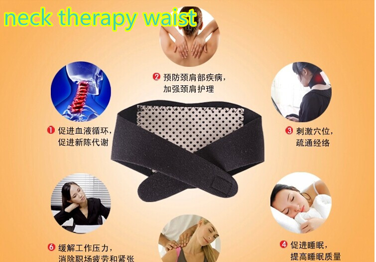 magnetic neck therapy  guard belt waist   Tourmaline self-heating   free shipping