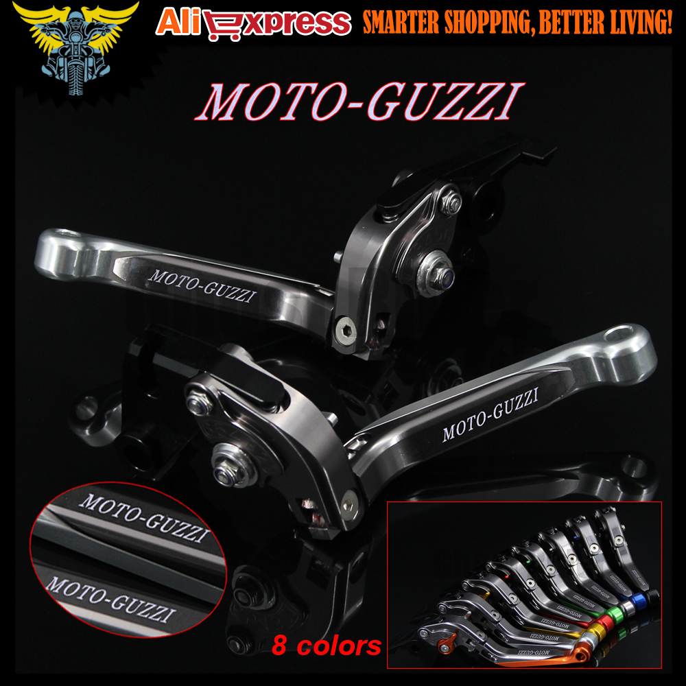 Adjustable Folding Extendable Motorcycle Brake Clutch Levers For MOTO-GUZZI STELVIO 2008 2009 2010 2011 2012 2013 2014 2015 2016 fxcnc fold extend moto lever motorcycle brake clutch levers for moto guzzi norge 1200 gt8v 2006 2015 2007 2008 2009 2010 2011
