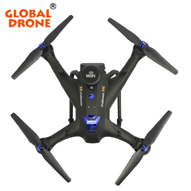 2017 New Global Drone 6-axes X183 With 2MP WiFi FPV HD Camera GPS Brushless Quadcopter 30 mini rc global drone 2 4g 6 axis x183 gyro quadcopter with 2mp wifi fpv hd camera gps brushless mode remote control toys gifts