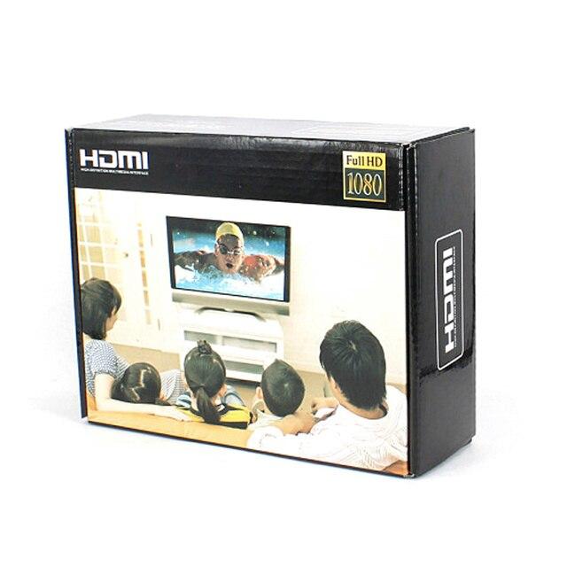 BrankBass 4 port HDMI Splitter 1x4 switch video audio converter adapter support 3D HDMI1.3b HDCP1.2 CEC