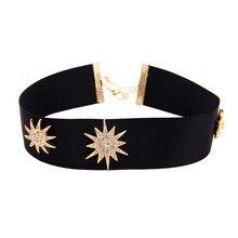 Joolimn Wide Black Choker Necklace Fashion Jewelry Wholesale lace wide adjustable choker necklace