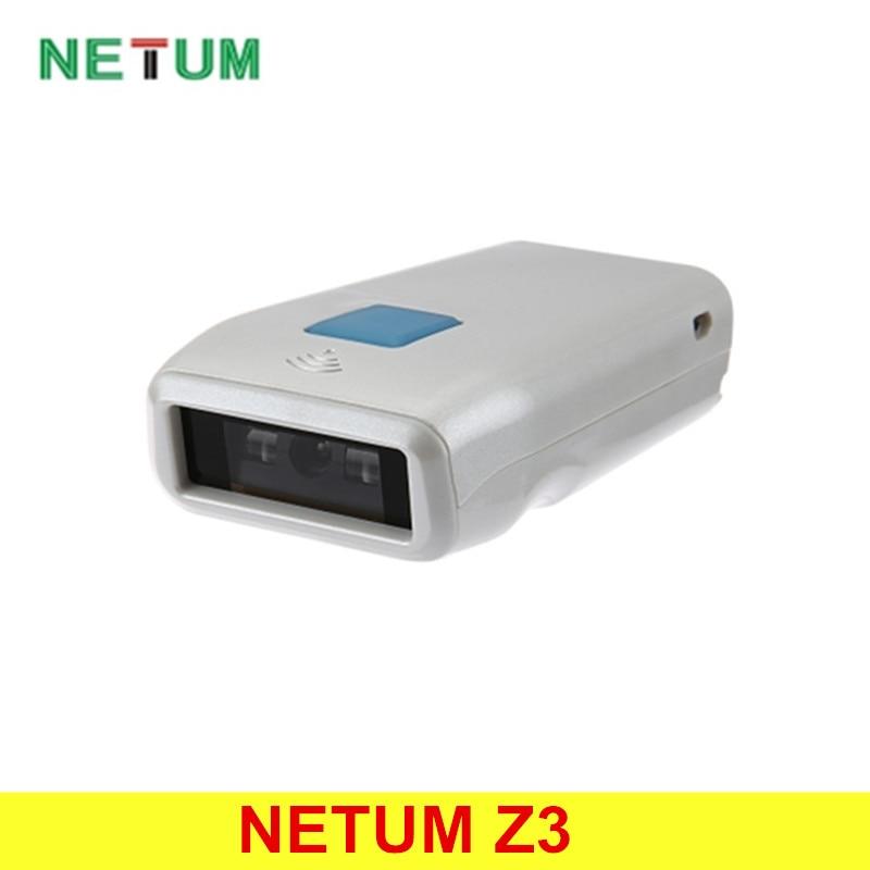 Оригинальный netum Z3 Беспроводной Bluetooth 4.0 лазерный 1D сканер штрих Читатель Встроенный 1000 мАч Перезаряжаемые Батарея