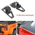 Черный Автомобиль Задний Фонарь Кронштейн Зажимы Крепления Водителя и Пассажира Для Jeep Wrangler 2 Двери Неограниченное 4 Двери 2007-2015