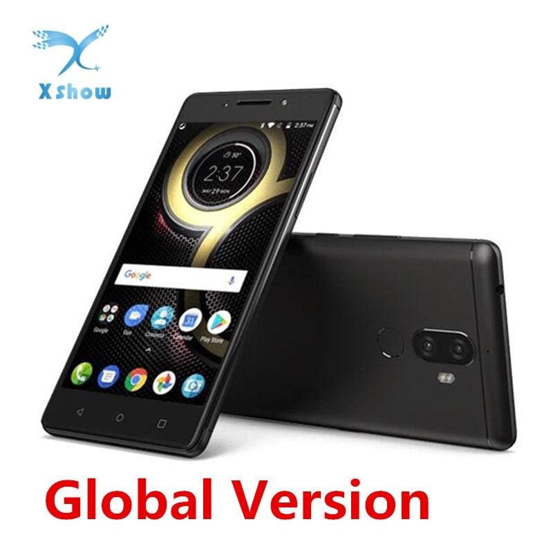 Original Lenovo K8 Hinweis 4G LTE Handy 5,5 zoll 3GB + 32GB Helio X23 Deca core Fingerprint 4000mAh 13.0MP + 5.0MP handy-in Handys aus Handys & Telekommunikation bei AliExpress - 11.11_Doppel-11Tag der Singles 1