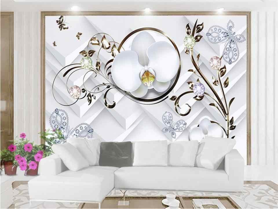 3d wallpaper benutzerdefinierte fototapete wohnzimmer wandbild relief schmuck schmetterling 3d malerei TV hintergrundbild für wand 3d