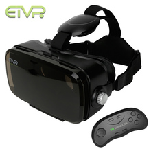 ETVR Mini 3D Google Cardboard Glasses Headset Immersive Virtual Reality Goggles VR Box For Smartphone + Bluetooth Controller