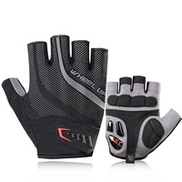 Cycling Gloves Half Finger Bicycle Gloves Sport Mountain Breathable Bike Gloves Men Sports MTB Riding Accessories D0205