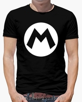 Summer The Price Of T Shirts Men M Of Mario Short O Neck Novelty Cotton 3d