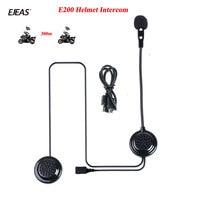 EJEAS E200 300m Bluetooth Helmet Headset Wireless Skiing Communication without an Intercom Moto for Two Riders Helmet Interphone