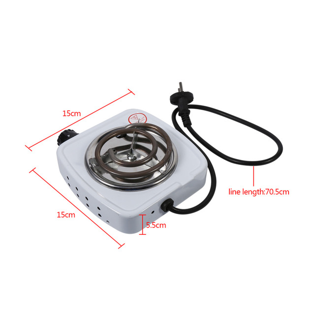 220V 500W Electric Stove Hot Plate Iron Burner Home Kitchen Cooker Coffee Heater Hotplate Kitchen Appliance EU Plug