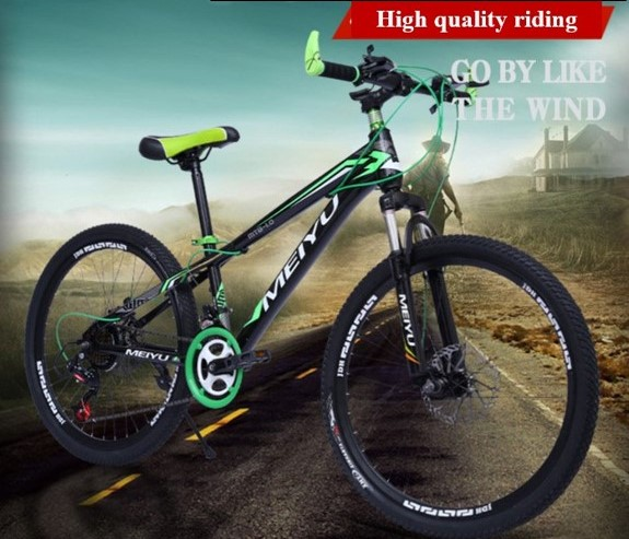Bicycle MeiYu Mountain Bike 20/24 inch Tire 21 speed Double Disc Brakes|Bicycle| |  - title=