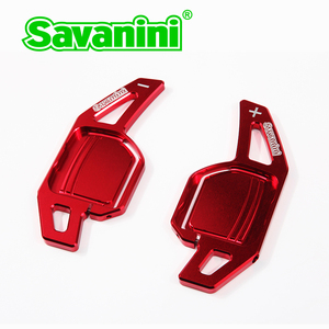 Image 3 - Savanini dsg volante mudança de engrenagem paddle shifter extensão para audi a3/a4/a5/q3/q5/tt/s3/r8/a6 acessórios do carro