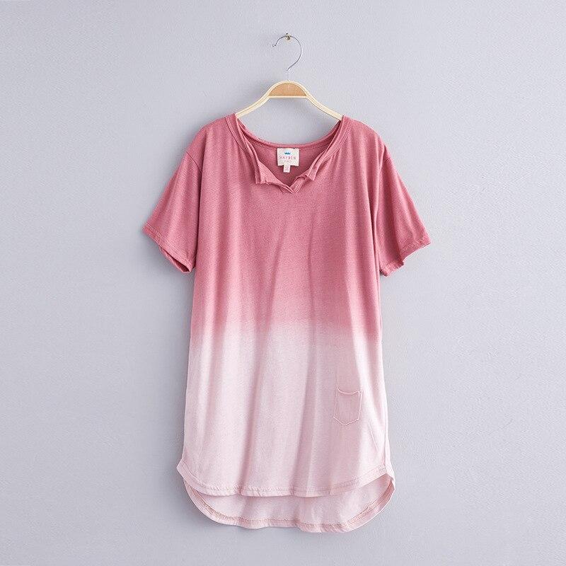 11434f4bb82ba HAYDEN Filles T shirt À Manches Courtes Ombre T Shirt pour Enfants  Adolescent Enfants Long Loose Fit Coton t shirt Col V Tops fille Vêtements  dans ...