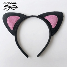New 2016 Fashion Hair Accessories Cute Cat Ear Band Small Headband for Women Hello Kitty Styling Tools Headwear