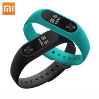 Original Xiaomi Mi Band 2 Wristband Bracelet Smart Heart Rate Monitor Fitness Tracker Miband Band2 Touchpad