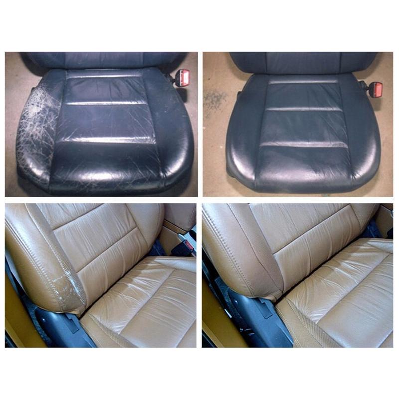 Liquid Leather Skin Car Seat Sofa Coats Holes Scratch Cracks Rips No Heat  Liquid Leather Vinyl Repair Kit Leather Repair Tool